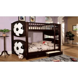 Buy clear Aiden Twin Bunk Bed with Storage ByZoomie Kids