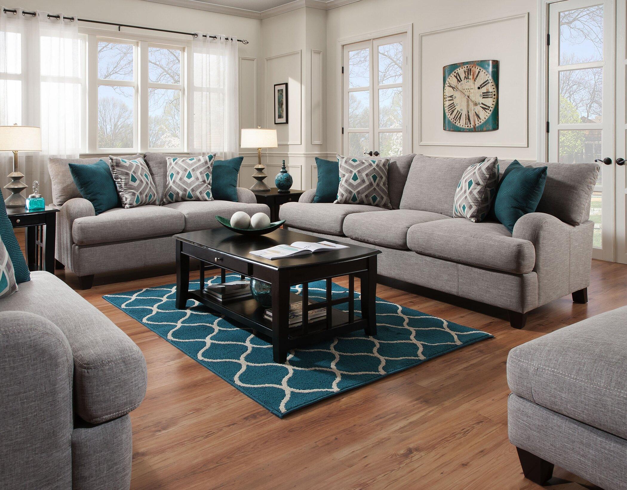 Laurel Foundry Modern Farmhouse Rosalie Configurable Living Room