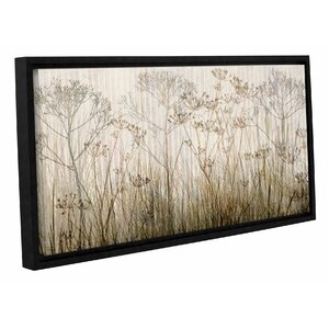 'Wildflowers Mutli-Colored' by Cora Niele Framed Graphic Art on Canvas by ArtWall