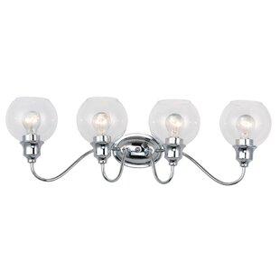 Check Prices Hunley 4-Light Vanity Light By Charlton Home