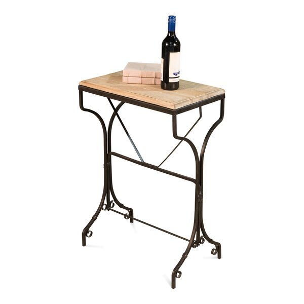 Falkville Solid Wood Bistro Table by Charlton Home
