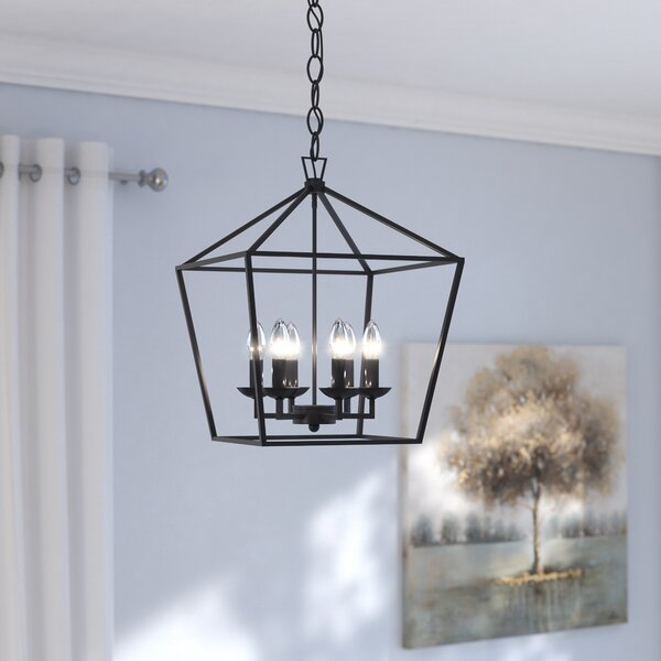 Carmen 6-Light Foyer Pendant by Laurel Foundry Mod