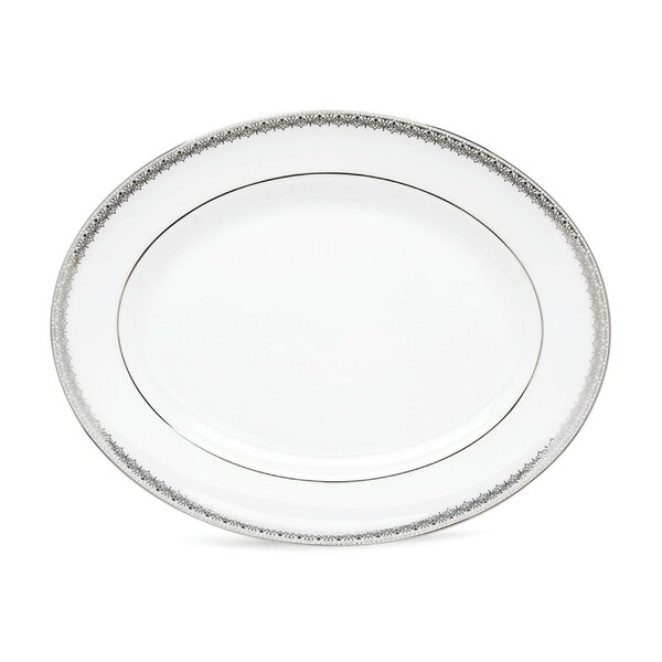 Lace Couture Oval Platter by Lenox