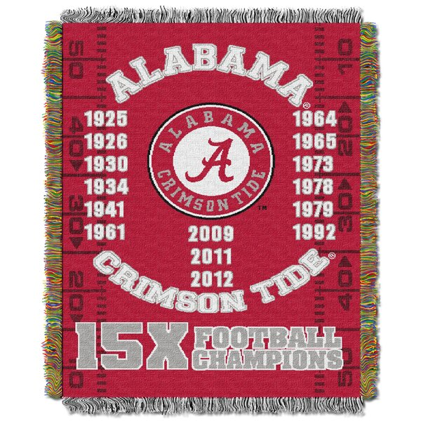 NCAA Throw Blanket by Northwest Co.
