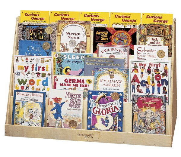 Double-Sided Book Display by Childcraft