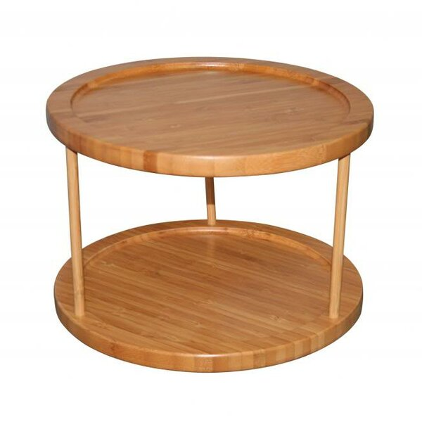 2 Tier Round Turntable Lazy Susan by Sorbus