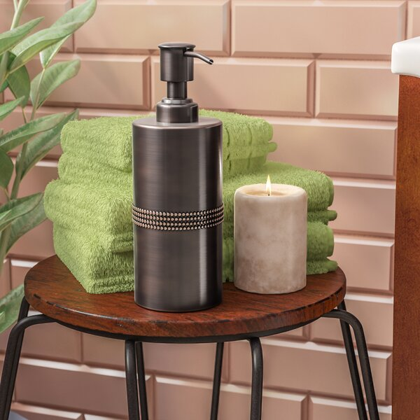 Boyd Antique Copper Lotion Dispenser by World Menagerie