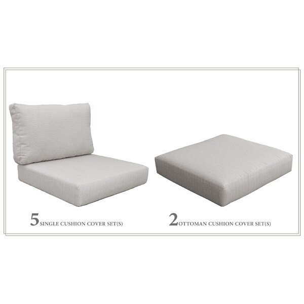 Miami 12 Piece Outdoor Lounge Chair Cushion Set by TK Classics TK Classics