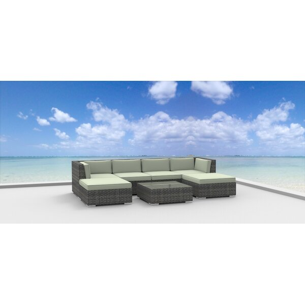 Madeleine 7 Piece Sectional Set with Cushions by Brayden Studio