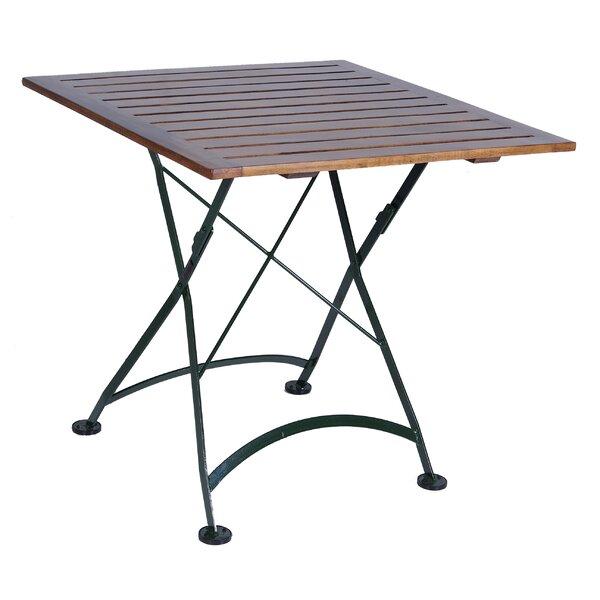 European Café Folding Teak Dining Table by Furniture Designhouse