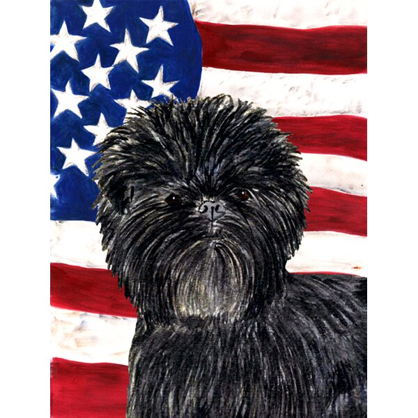 USA American House Vertical Flag by East Urban Hom