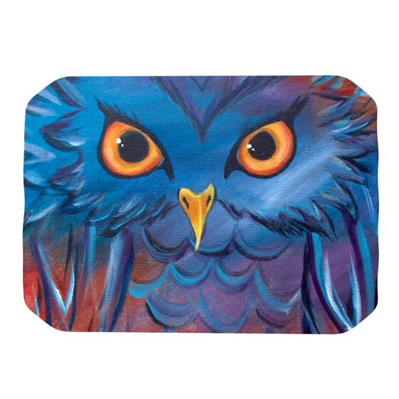 Hoot Placemat by KESS InHouse