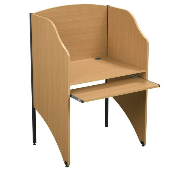Wood 48 Study Carrel by Balt