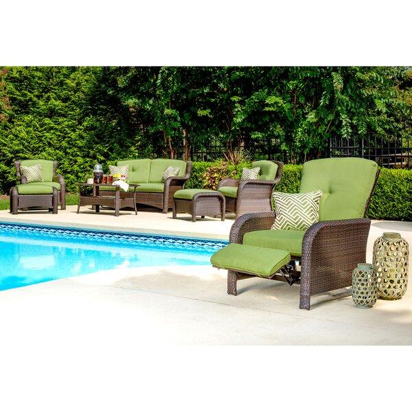 Minyard Patio Chair with Cushions by Latitude Run