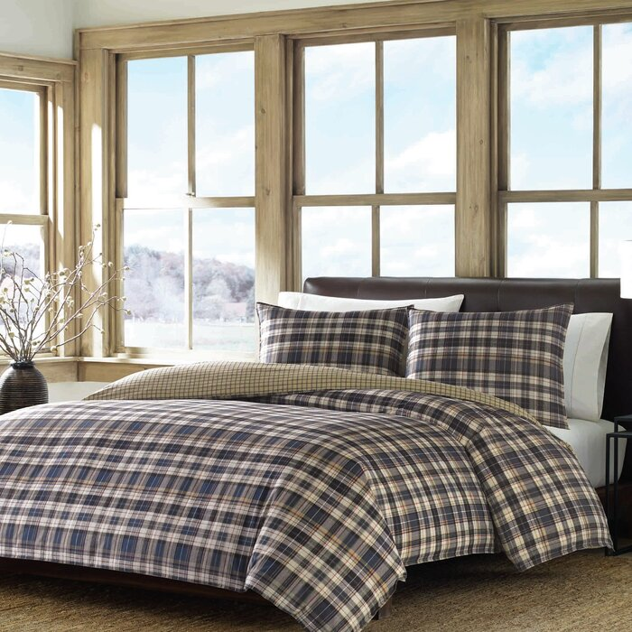eddie willow comforter bedding plaid quilt bauer bedroom valley sheets mattress replacement bed striped bassinet set