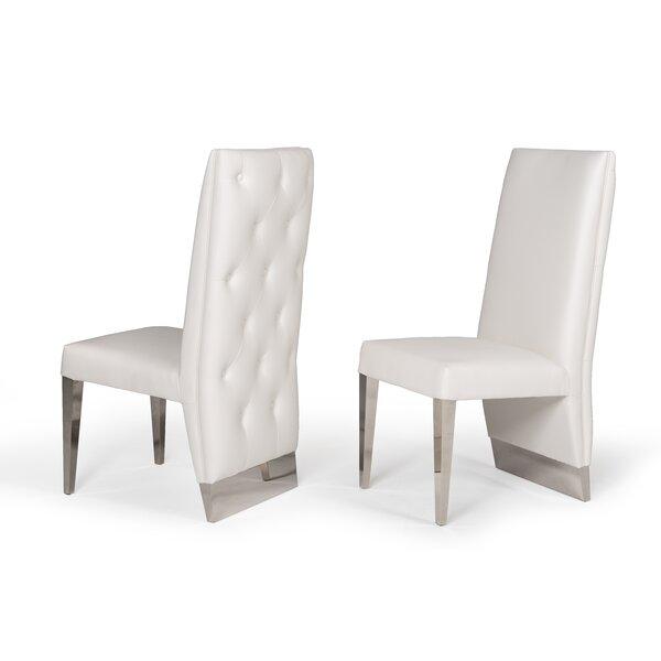Statham Upholstered Dining Chair (Set of 2) by Orren Ellis Orren Ellis