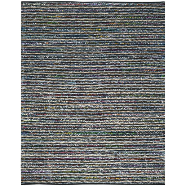 Gilchrist Handwoven Blue/Gray Area Rug by Beachcrest Home