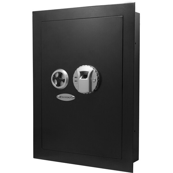 Biometric Lock Wall Safe 0.69 CuFt by Barska