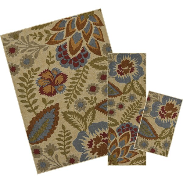 Owensville 3 Piece Multi Area Rug Set by Darby Home Co