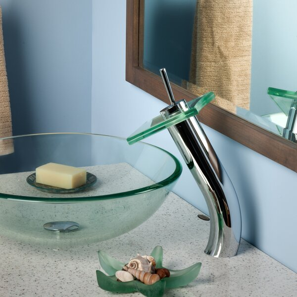 Squared Waterfall Faucet Set by Novatto