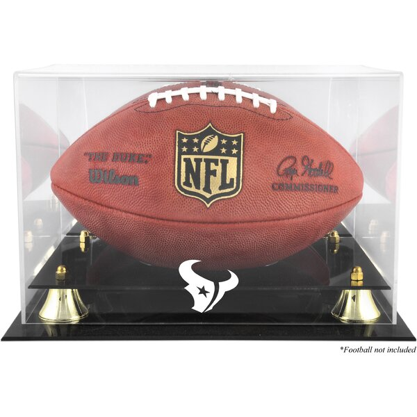NFL Classic Football Logo Display Case by Mounted Memories