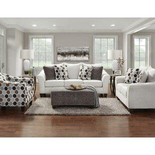 Wicham 4 Piece Configurable Living Room Set by Ebern Designs