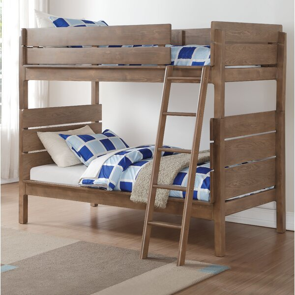 Blackwell Twin over Twin Bunk Bed by Harriet Bee