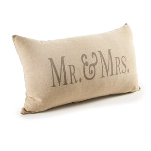 Posell Mr. And Mrs. Lumbar Pillow