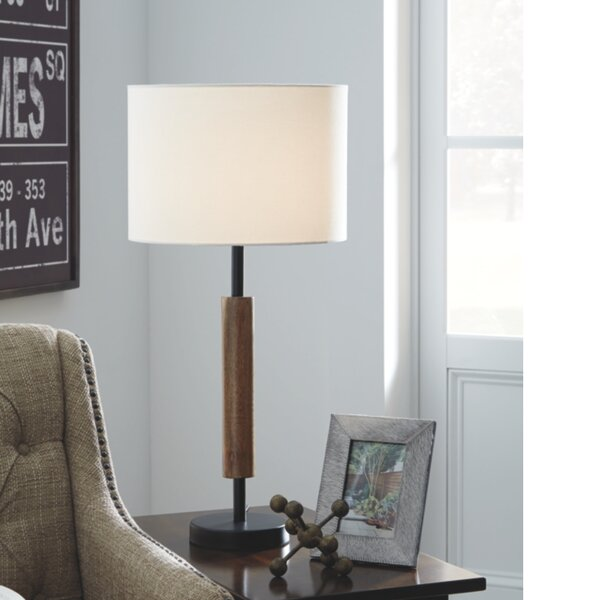 Bittinger Wood 26.5 Table Lamp (Set of 2) by Wrought Studio