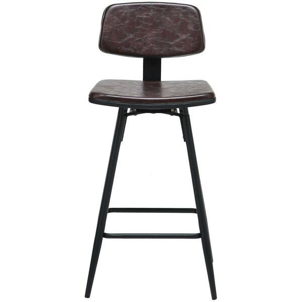 Robertsdale Swivel Counter & Bar Stool (Set of 2) by 17 Stories 17 Stories