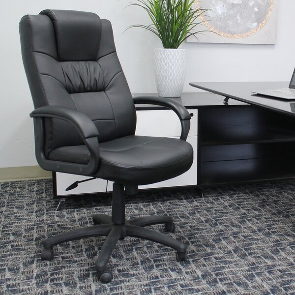 Leather Executive Chair by Boss Office Products