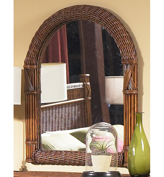 Florentine Arched Dresser Mirror by Bay Isle Home