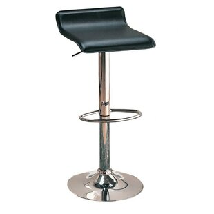 Zahara Adjustable Height Swivel Bar Stool (Set of 2)