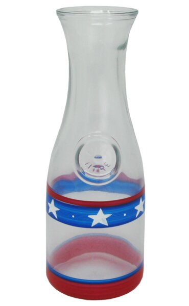 Aria Stars and Stripes Carafe by The Holiday Aisle