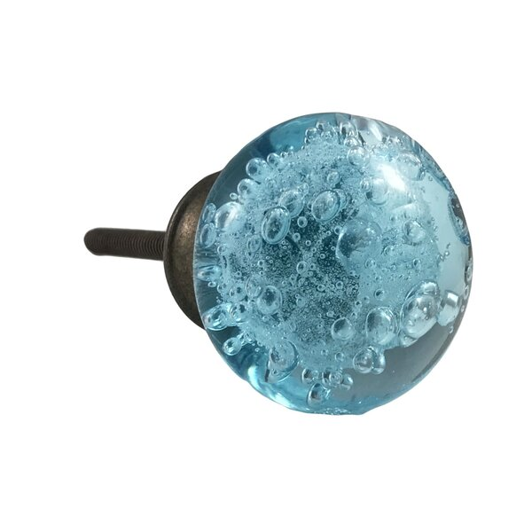 Bubble Glass Round Knob by Shabby Restore