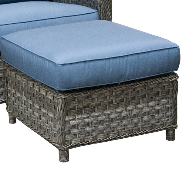 Ottoman with Cushion by Wildon Home ®