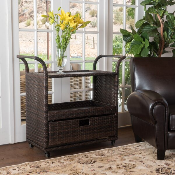 Denslowe Bar Cart by Bay Isle Home