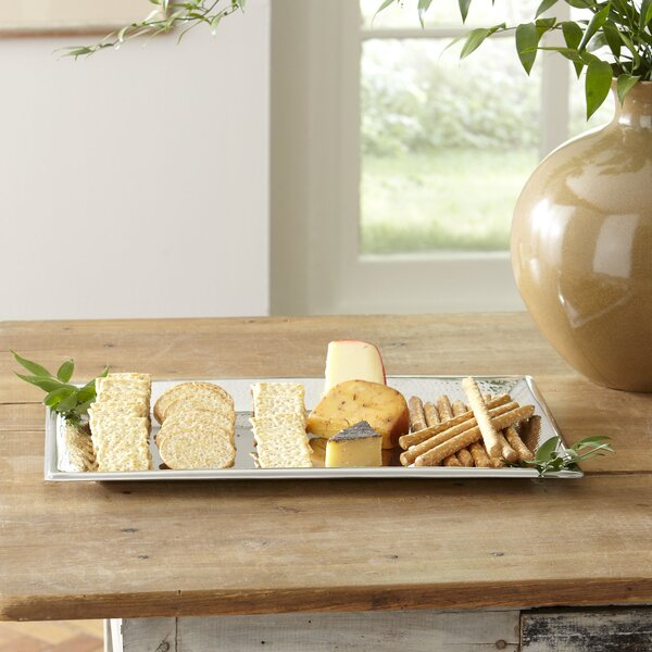 Hammered Silver Tray by Birch Lane™