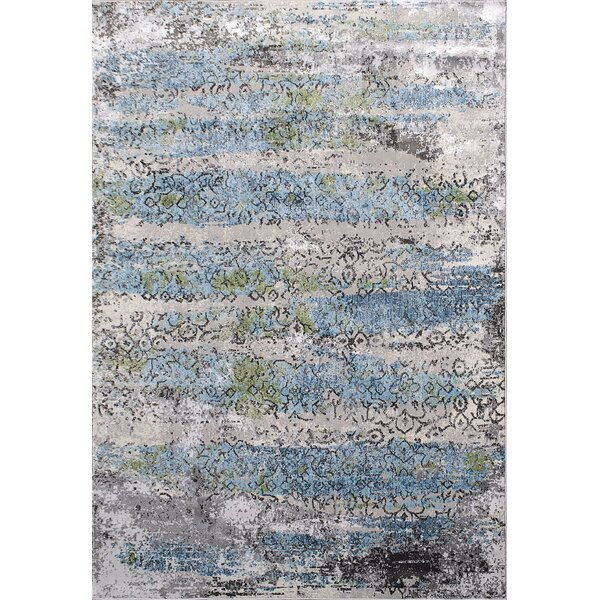 Dovewood Light Gray Area Rug by Bungalow Rose