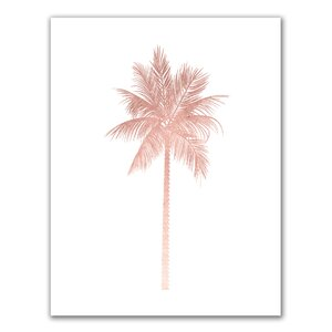 'Palm Tree' Painting Print by Jetty Home