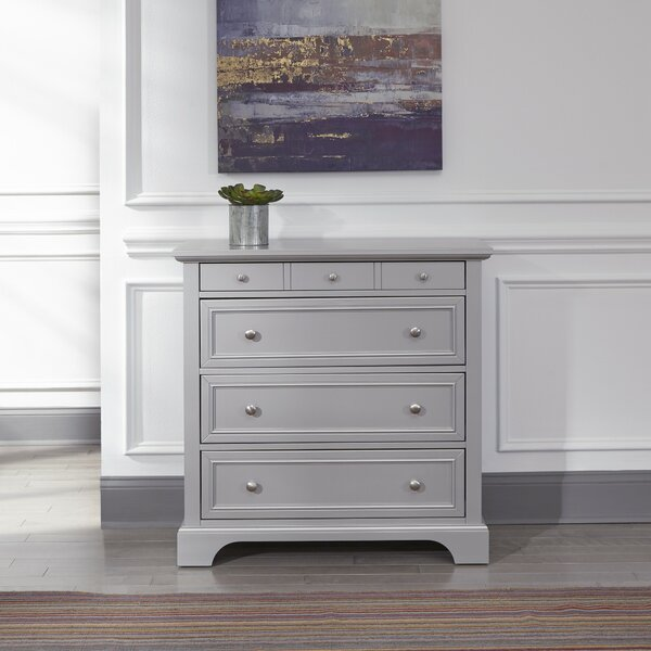 Roxane 4 Drawer Standard Dresser by Harriet Bee