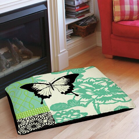 Butterfly Journey 1 Indoor/Outdoor Pet Bed by Manual Woodworkers & Weavers