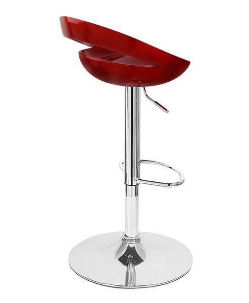 Rho Adjustable Height Swivel Bar Stool (Set of 4) by Vandue Corporation