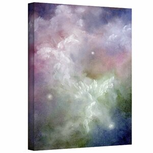 Dancing Angels by Marina Petro Painting Print on Wrapped Canvas by ArtWall