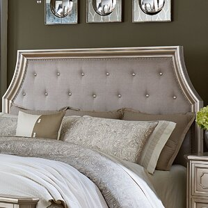 Haneul Tufting Upholstered Panel Headboard by Willa Arlo Interiors