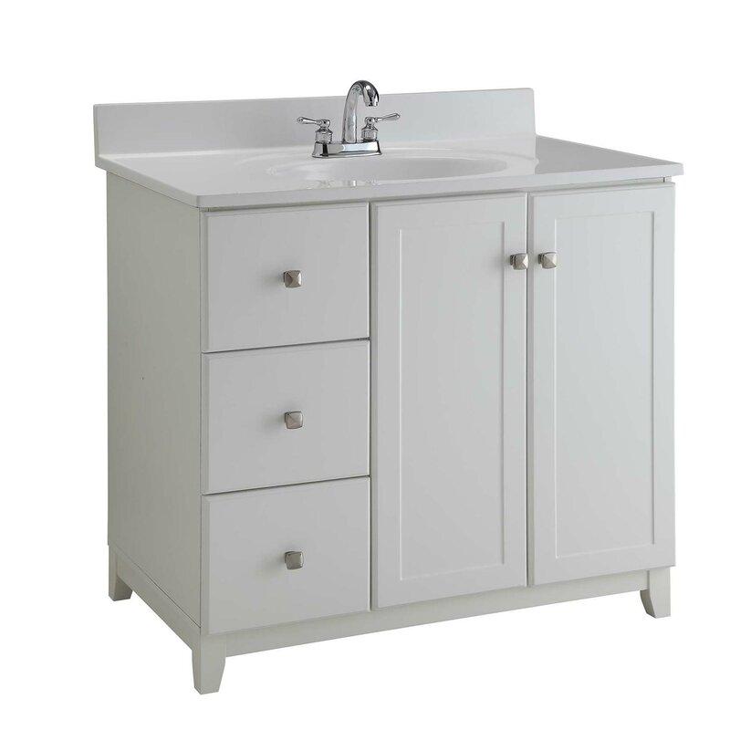 bathroom vanities 22 inches wide. 36  Single Bathroom Vanity Base Vanities without Tops You ll Love