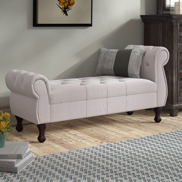 Saint Catherine Upholstered Bench by Laurel Foundry Modern Farmhouse