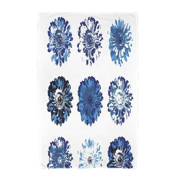 Willa Floral Beach Towel by Bungalow Rose