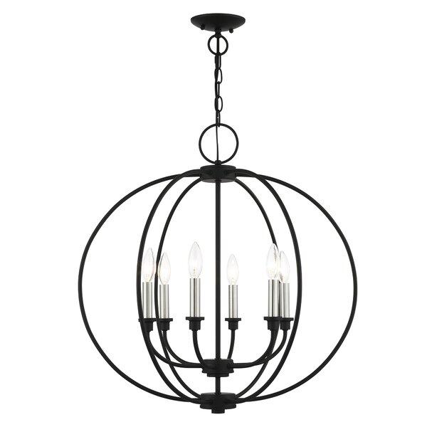 Shelteridge 6 - Light Globe Chandelier by Gracie Oaks Gracie Oaks