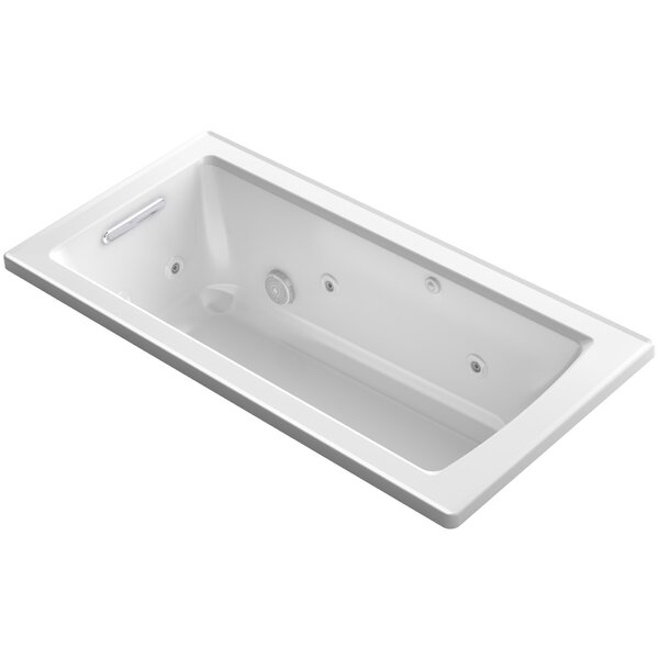 Archer Drop-in Whirlpool with Bask Heated Surface by Kohler